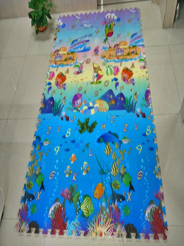 【海洋世界拼图】45×45×1 .5CM【12片装】