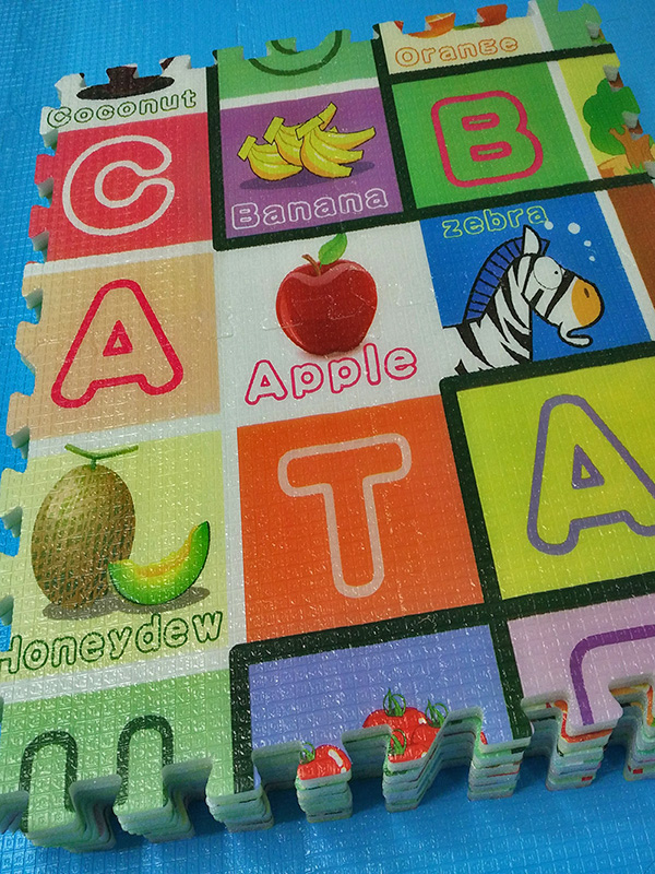 【水果字母拼图】32×32×1.5CM【24片装