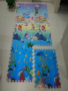 广州【海洋世界拼图】60×60×1 .5CM【6片装】