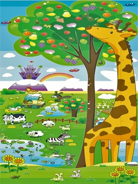 【 0.5CM双面】长颈鹿