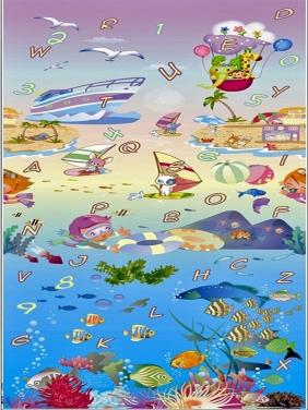 【 0.8CM双面】海洋世界